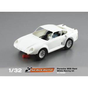 Porsche 959 Raid White Racing Kit Dakar Chassis
