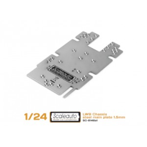 Central chasis 1/24 SC-8002 LWB acero 54,8 grs