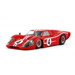 Ford MK IV Limited Edition 500pcs 4 red SW Shark