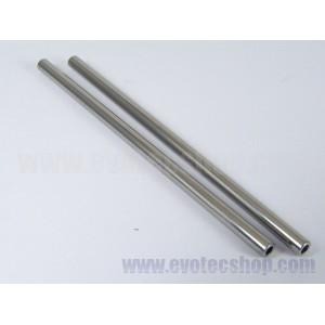 Eje acero hueco 3/32 (2,38) x 55 mm 2 uds