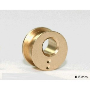 Cojinete excentrico 0.6 mm. eje 2.38 mm x2