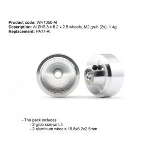 Llanta PRO aluminio 15,8X8,2mm