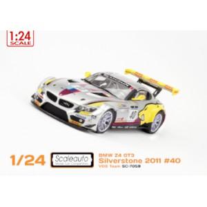Carroceria BMW Z4 Silverstone 2011 Winner