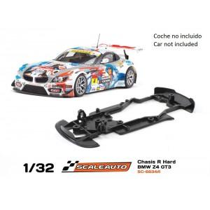 Chasis R para Bmw Z4 GT3 Scaleauto Hard (Negro)