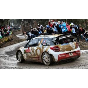 Calca 1/32 Citroen DS3 WRC Rally Montecarlo 2015