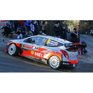 Calca 1/32 Hyundai I30 WRC Rally Montecarlo 2015