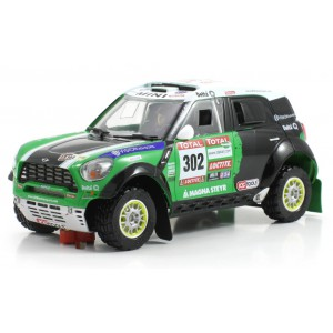 Mini All 4 Racing 302 Peterhansel 1ro chasis Dakar