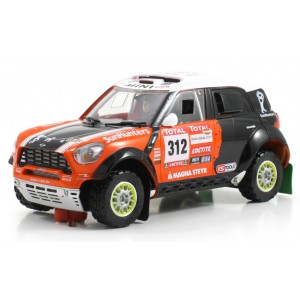 Mini All 4 Racing 312 Dakar 2012 chasis Dakar