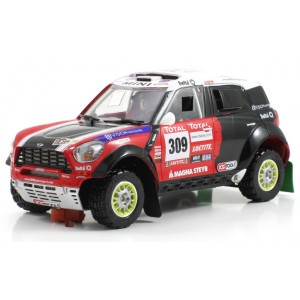 Mini All 4 Racing 309 Dakar 2012 chasis Dakar