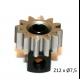 Piñon Extraible  Z12 x 7,5 mm. mod.0.5 Acero SP085812 sloting plus