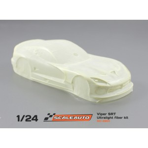 Carrocería 1/24 Dodge Viper en fibra ultraligera