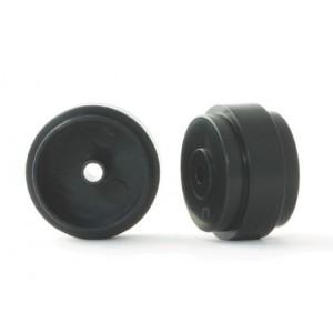 Llanta PRO Plástico 17x10x0,5mm Negras 0,85gr.