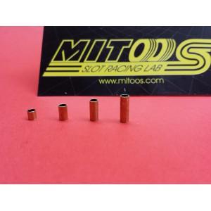 Espaciadores metal 3,5,7 y 9 mm eje 3/32 4uds/cada