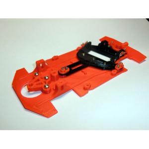 Chasis + soporte motor Honda HSV comp. Scaleauto