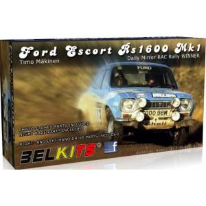 Kit 1/24 Ford Escort RS1600 Mk.I RAC Rally 1973