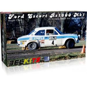 Kit 1/24 Ford Escort RS1600 Mk.I RAC Rally 1972