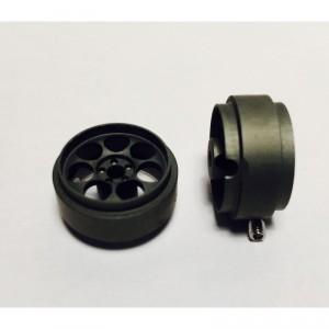 Llanta R3 17.7x9 mm gris 2unid