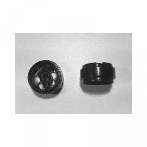 Llanta R3 17,5x9 mm negro 2 unidades