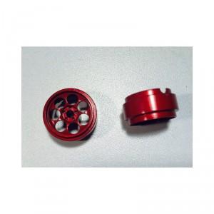 Llanta R3 17,5x9 mm rojo 2 unidades