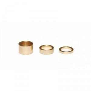 Set separadores de latón 0,5-1-2 mm 15ud