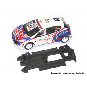 Chasis 3D Peugeot 207 WRC AVANT MONOCHASIS