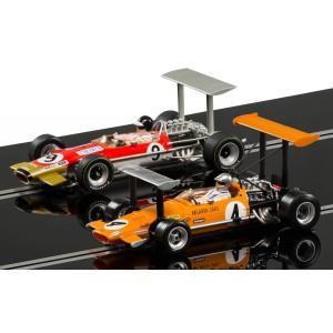 Scalextric 3544A McLaren M7C & Lotus Type 49B