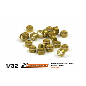 Separadores1,5mm paraEje3/32 en Bronce