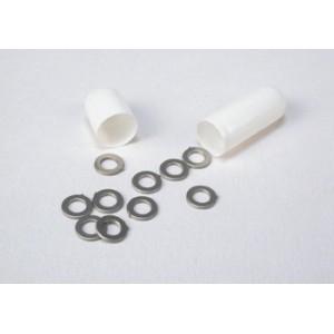 Separadores eje 3/32  de 0,5 mm de grosor