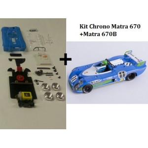 Kit Chrono Matra 670+Matra 670B