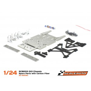 Chasis SC8003 GT3 1/24 en Kit con Piezas Carbono