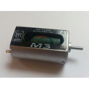 MOTOR M3 17000 RPM a 12V 230 gr/cm