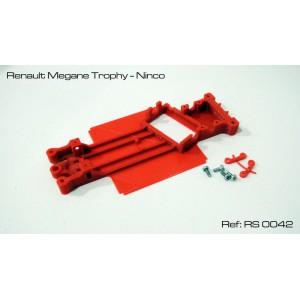 Chasis 3D Angular Renault Megane Trophy - Ninco