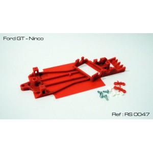Chasis 3D Angular Ford GT - Ninco