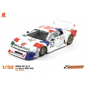 BMW M1 Gr.5 Le Mans 1981 52 Wurth version R