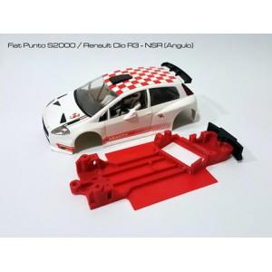CHASIS 3D - FIAT PUNTO / RENAULT CLIO NSR ANGULAR
