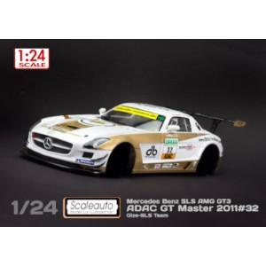 Carrocería Mercedes SLS GT3 ADAC GT Masters 2011