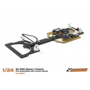 Chasis SC-NR2 Klasse-1 1/24 Kit con Piezas Carbono