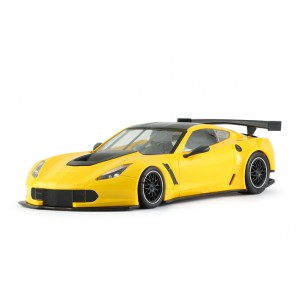 Corvette C7R Test Car Yellow AW King EVO3
