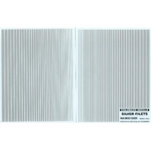 Calcas lineas plateadas 0.5 mm - 5 mm