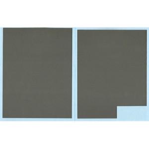 Calca aluminio plateado 143x130