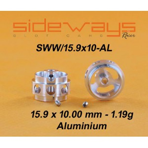 Llantas Aluminio 15,9x10mm