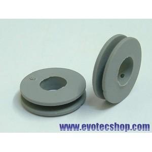 Poleas transmision Diam. 10 mm (x 2)