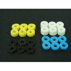 Separadores 3D PLA 1,2,3 y 4mm 3/32 (6 de cada)