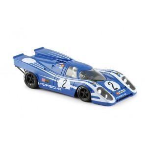 Porsche 917K blue strips white 2 Targa Florio 197