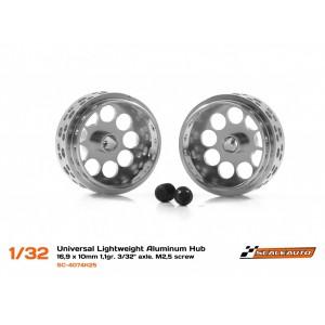 Llanta Aluminio 16.9x10mm. Lightweight V2 eje 3/32
