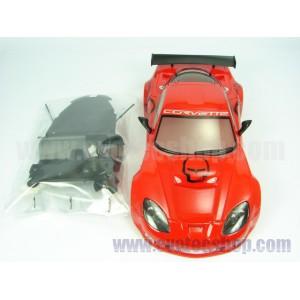 Carroceria Corvette C6R Take NO Prisoners red