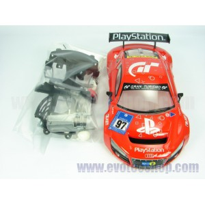 Carroceria AUDI R8 LMS PLAYSTATION 97 red