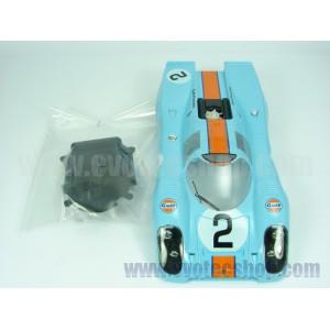 Carroceria Porsche 917 Daytona Gulf nr 2+cockpit