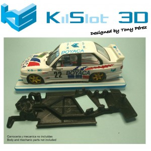 Chasis angular Race SOFT 2017 BMW M3 E30 Fly