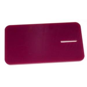 Placa plástico acrílica Lila